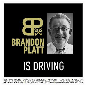 Brandon Platt is Driving