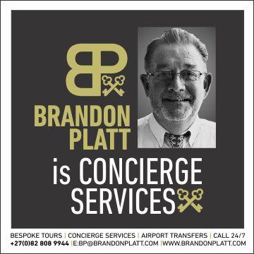 Brandon Platt is Concierge Services
